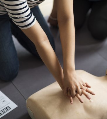 Heart-saver CPR AED